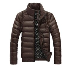 Classic Fashion Mens American Apparel Thick Winter Jacket