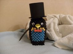 origami 3d - PENGUIN - how to make instructions - YouTube