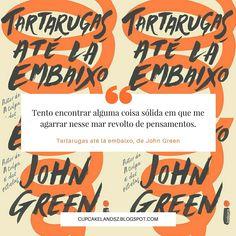 resenha do livro Tartarugas até lá embaixo, escrito pelo autor John Green