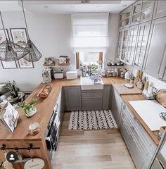 Kitchen Room Design, Home Decor Kitchen, Interior Design Kitchen, Home Kitchens, Outdoor Kitchens, Country Kitchen, Home Living Room, Home Decor Inspiration, Kitchen Remodel