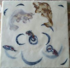 Encaustic Painting by Michelle Carpenter