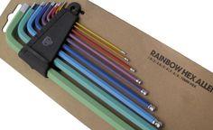 Rainbow Allen Key Set, $29