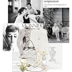 """Audrey Hepburn"" by bittersweet89 on Polyvore"