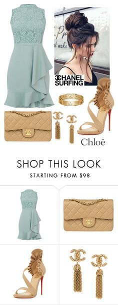 """""""keeping it simple but classy"""" by nlaa on Polyvore featuring Chanel, Christian Louboutin, Gucci and Chloé"""