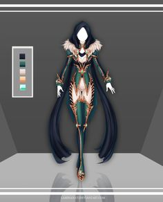 Adoptable Outfit Auction 72(closed) by LaminaNati.deviantart.com on @DeviantArt