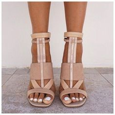 shoes nude heels camel white brown strappy heels sandals high heels leather sandals tan leather nude pumps #tansandalsheels