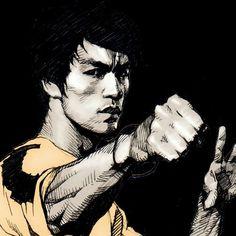 Bruce Lee.