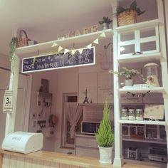 未読4件 - Yahoo!メール Vintage Kitchen Decor, Home Decor Kitchen, Milk Shop, Home Bakery, Cozy Kitchen, Cozy Corner, Creative Walls, Rustic Decor, Diy Design
