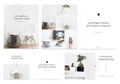 Minimal Social Media Marketing Kit by isntshelovelydesigns on @creativemarket