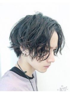 axy渋谷 齋藤cut3600円 グランジ ミディアム スマートマッシュ
