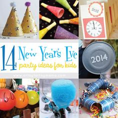 14 New Years Eve Party Ideas for Kids at artsyfartsymama.com