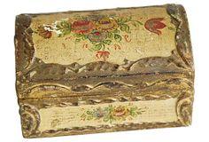 1950s Florentine Treasure Trinket Box on OneKingsLane.com