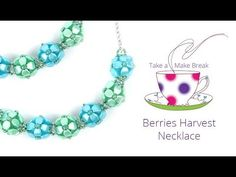 Passion Flower Bracelet | Take a Make Break with Beads Direct - YouTube