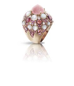 PASQUALE BRUNI Collection LADY TAJ quartz rose