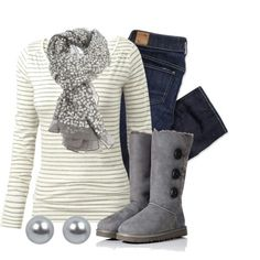 Stylish outfit for winter time