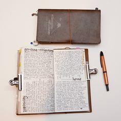 Baum-kuchen - Keeping a Notebook through Thick and Thin // Trina O'Gorman