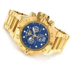 Invicta Mens Subaqua Noma IV Swiss Chronograph High Polish Bracelet Watch