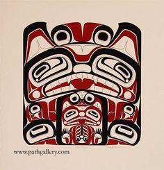Hudson, Jack 'Wolf Mother' - Northwest Coast Native Art