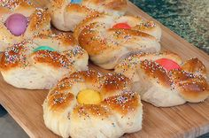 One of my favorite memories of Easter as a child, Italian Easter Bread