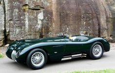1953 C-Type... poised. And Sir Stirl says it was better to drive than the D.