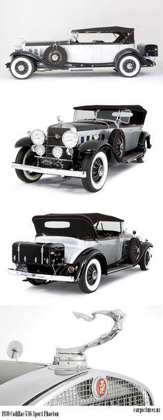 1930 Cadillac V-16 Sport Phaeton Mais