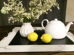 When life gives you lemons, find a chic pitcher, make lemonade and throw a party!