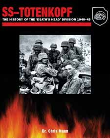 SS-Totenkopf by Dr Chris Mann, Amber Books, the first in a series of books on the divisions of the Waffen-SS, explores the background to the unit's formation, the men it recruited, the key figures involved, and its organisation. It also looks at the specialist training of the Waffen-SS, and the uniforms and insignia that members of the division wore.