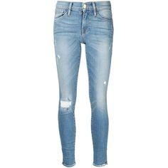 Frame Denim skinny jeans (1.190 BRL) ❤ liked on Polyvore
