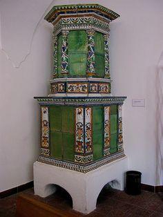 Eastern European Tile Stove