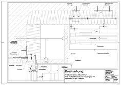 D-03-0002 Gebäudeinnenecke mit seitlichem Holz-Alu-Fassade und Übergang von Naturstein zu HPL-Fassade