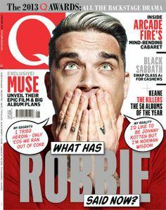 Robbie Williams - Q Magazine 2013.