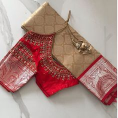 Kids Blouse Designs, Silk Saree Blouse Designs, Bridal Blouse Designs, Silk Sarees, Lehenga Designs Simple, Simple Designs, Peacock Embroidery Designs, Stylish Blouse Design, Designer Blouse Patterns