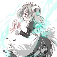 Skullgirls, Nerd Love, Community Art, Poetry Quotes, Pose Reference, Best Games, Anime Girls, Game Art, Skulls