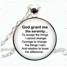 I just listed Serenity prayer neck… ($15) on Mercari! Come check it out! https://item.mercari.com/gl/m958706016