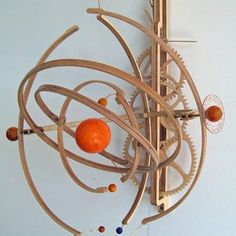 """""""Planets"""" Kinetic Sculpture"""