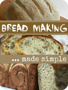Easy Bread Making Recipes