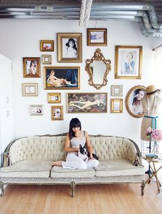 French Couture Loft  Read more - http://www.stylemepretty.com/living/2014/01/29/french-couture-loft/