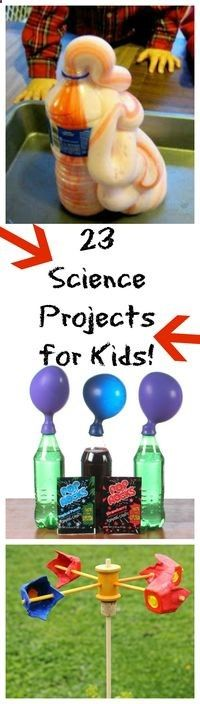 Looking for more things to do this summer, while keeping cool? Check out these 23 kid-friendly science projects!http://www.thisgrandmaisfun.com/23-science-projects-for-kids/