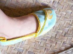 Wrap Slippers Tutorial