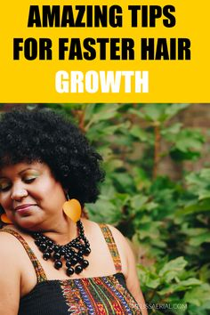 Here are some amazing natural hair growth tips for natural hair Natural Hair Growth Tips, Natural Hair Types, Natural Hair Updo, Hair Growth Oil, How To Grow Your Hair Faster, Free Hair, Hair Journey, Hair Inspiration