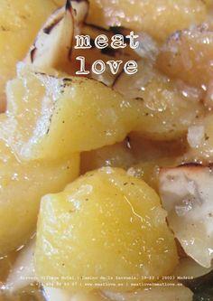 meat love | cocina de otoño: boletus, frutos secos,  manzanas…
