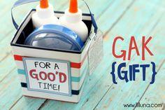 Gak gift idea...so cute