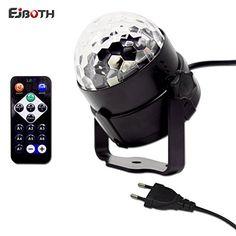 Inspirational Mini B hnenlicht EJBOTH Mini Ball Wunderlampe RGB LED Effektstufe Rundumleuchte Licht