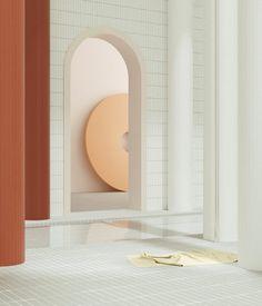 Entre rêve et réalité, l'architecture d'Alexis Christodoulou - PROMOSTYL Lightroom, Turbulence Deco, Design Movements, Interior Concept, Retro Futuristic, Concept Board, Space Architecture, Contemporary Interior Design, Elle Decor