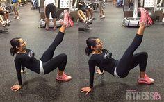 Quick No Machine Fat Burner FitnessRx has the best workouts!
