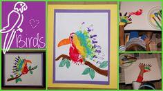 birds  Handprint  https://www.facebook.com/toddlertimetips