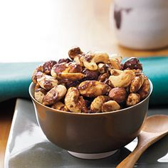 Indian-Spiced Roasted Nuts | MyRecipes.com (Cooking Light Gluten-Free)