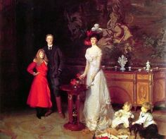 John Singer Sargent Sitwell Family
