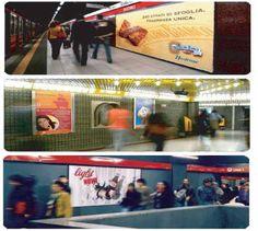 Kaos Agency - pubblicità metro roma - pubblicità stazione - pubblicità aeroporti