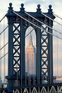 The beautiful Manhattan Bridge  Love New York City ❤️ &! Brooklyn !